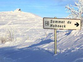 Montagne et pistes de ski en Alsace