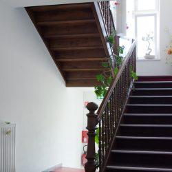 Escalier intérieur hôtel