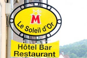 Plans et menus du restaurant