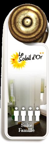 Suite familiale | Hotel Soleil d'Or